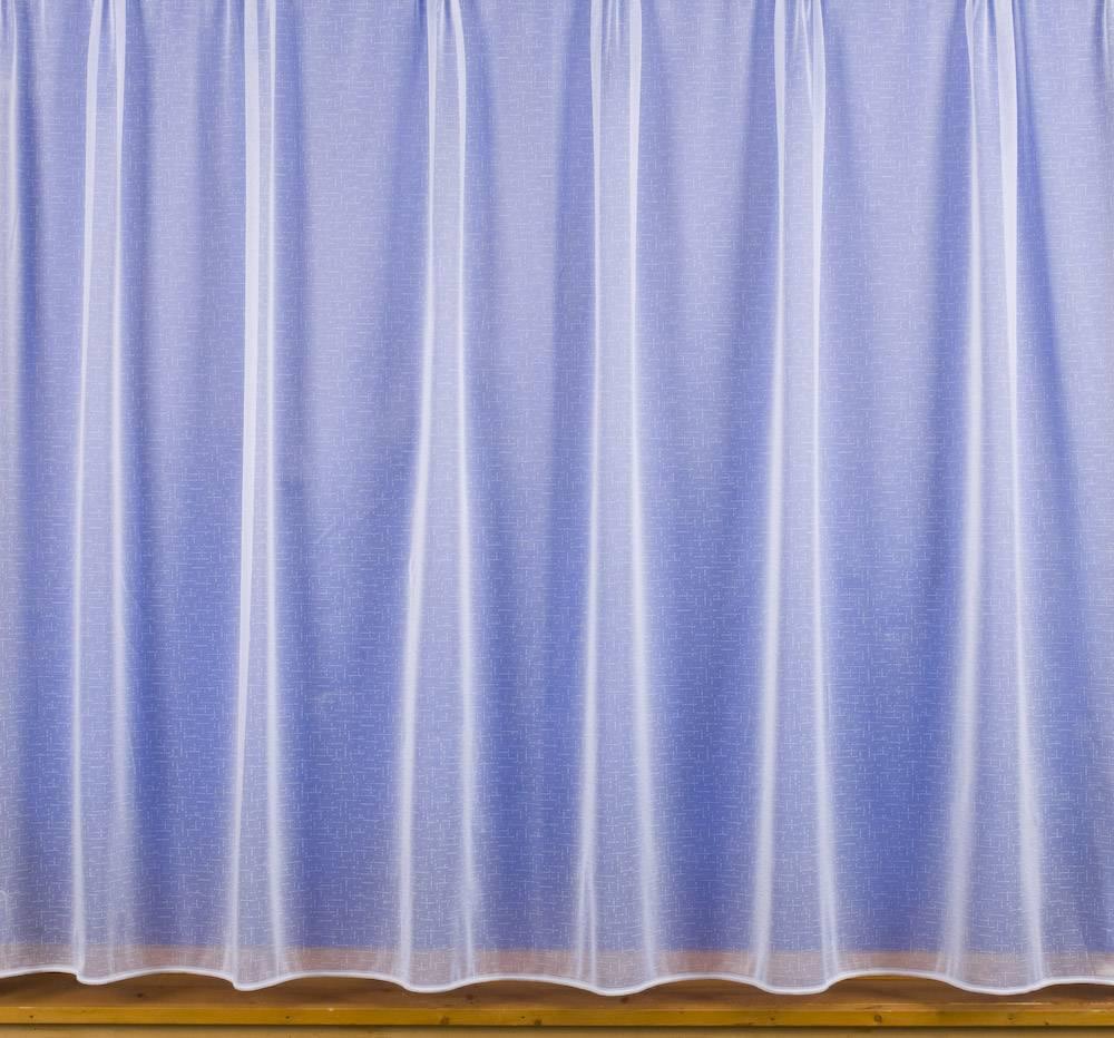 Nina White Net Curtain Priced Per Metre Net Curtain 2